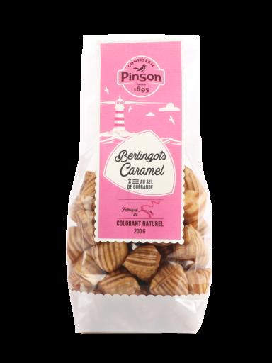Berlingots caramel Pinson en sachet de 200g