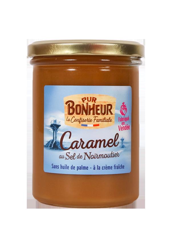 Caramel à tartiner au sel de Noirmoutier Pur bonheur