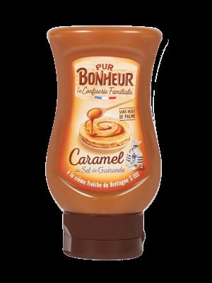 Caramel à tartiner au sel de Guérande Pur bonheur