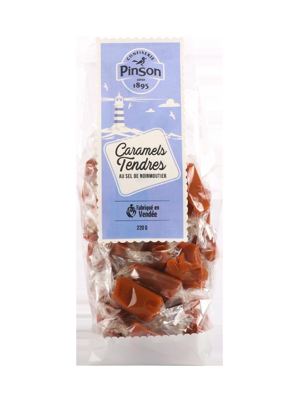 Caramels tendres au sel de Noirmoutier Confiserie Pinson