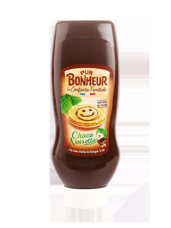 Pâte à tartiner choco noisette sans huile de palme Pur bonheur