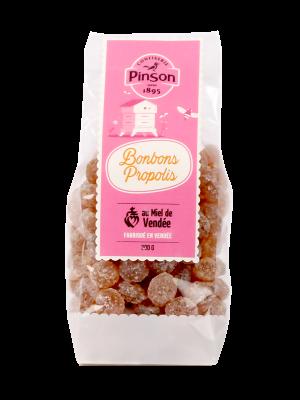 Bonbons au miel de vendée et à la propolis Pinson