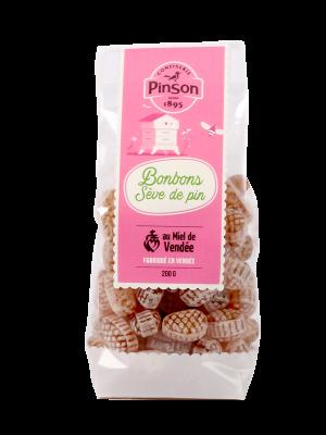Bonbons au miel et à la sève de pin Pinson