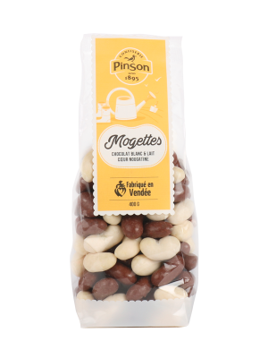 Mogettes 2 chocolats Pinson