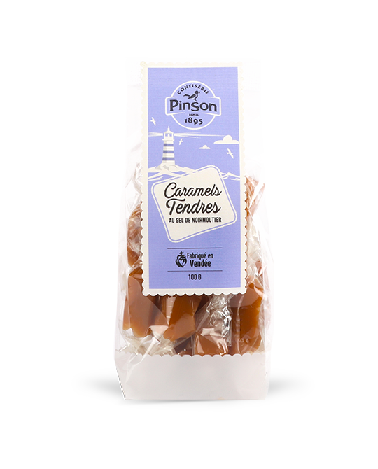 Caramels tendres noirmoutier pinson