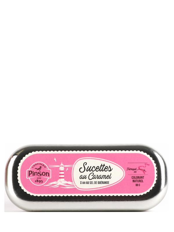 Sucettes caramel guérande Pinson
