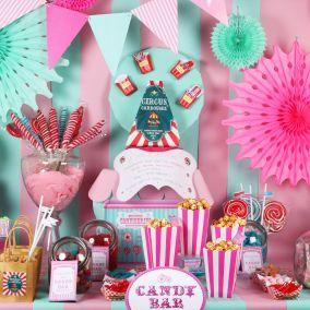 Candy bar fête foraine