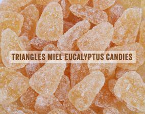 Bonbons triangles miel eucalyptus Pinson