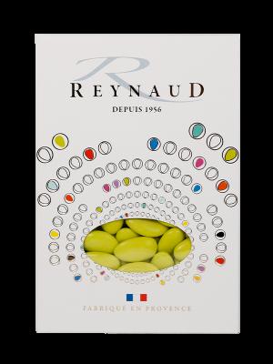 Dragées amande Reynaud - Vert anis