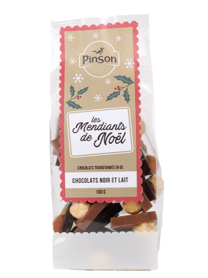 Mendiants chocolats Pinson