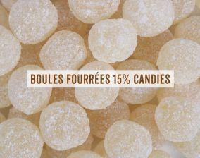 boules fourrées 15%